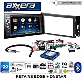 hummer h3 gps - Volunteer Audio Axxera AVN6558BT Double Din Radio Install Kit with Navigation Bluetooth CD/DVD Player Fits 2005-2013 Chevrolet Corvette, 2006-2009 Hummer H3 (Bose and Onstar)