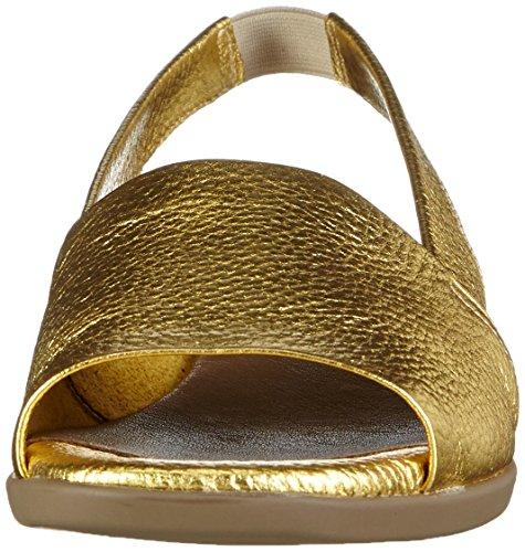 Aerosoles Damen Cush Flow Offene Sandalen Gold (Gold)