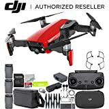 DJI Mavic Air Drone Quadcopter FLY MORE COMBO Bundle (Flame Red)