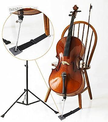 Cello Endpin Stop Stop Halter Maple Anchor  Rutschfeste W Metal Eye