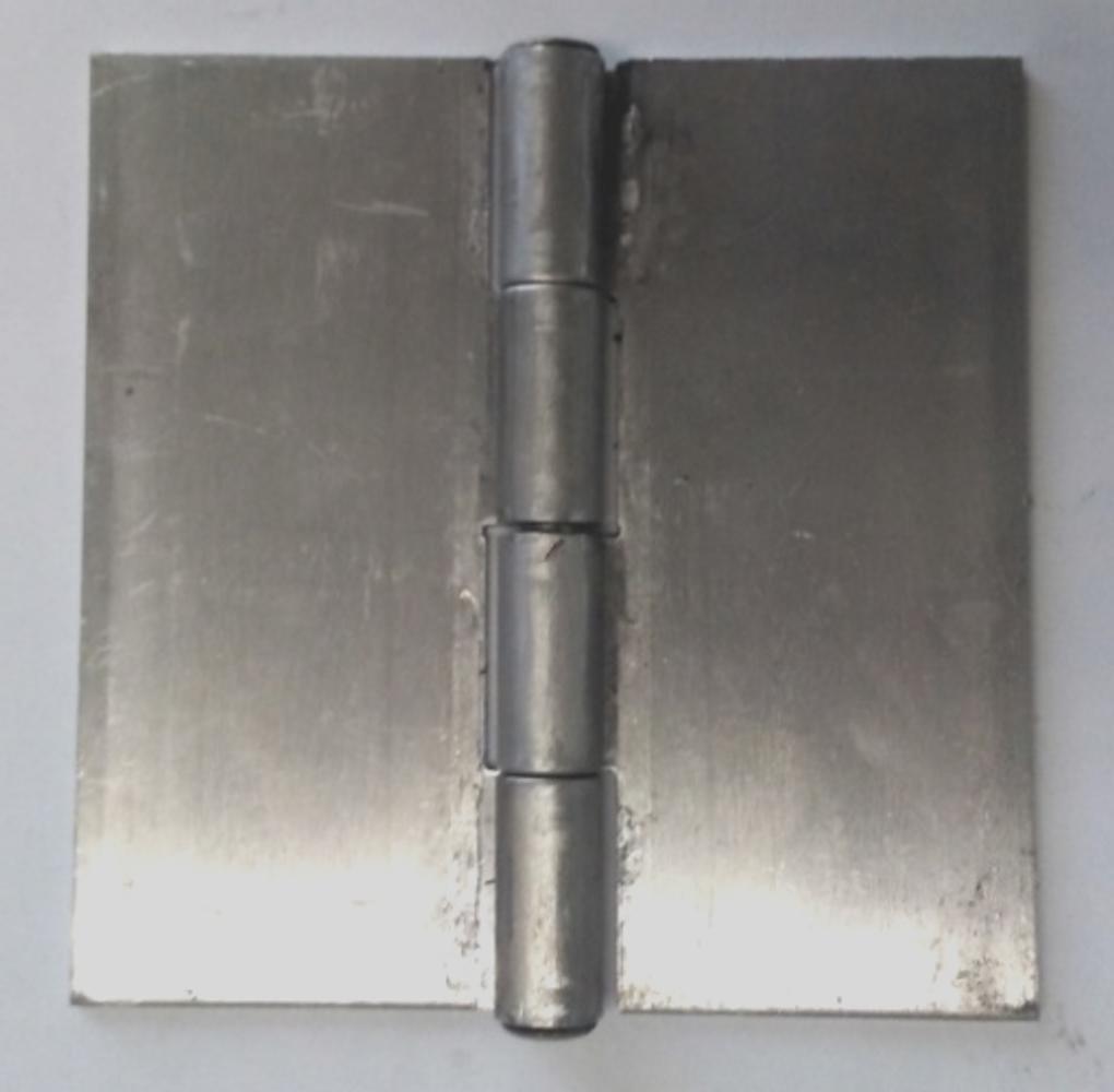 Pair of Aluminum Butt Weld Hinges (4'' X 4'')