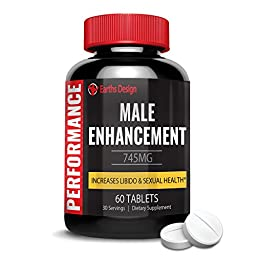 Top Male Sexual Enhancement Pills, Increase Size Length and Girth, Increase Erection Quality and Sexual Stamina, All Natural Testosterone Booster, Best Performance Supplement for Men- 1 Month Supply