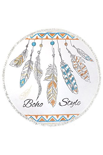 ScarvesMe Handmade Feather Fringe Tassels