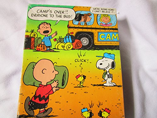 Peanuts 63 Piece Puzzle, Charlie Brown and Gang Puzzle, Camp's Over - Pigpen Charlie Brown