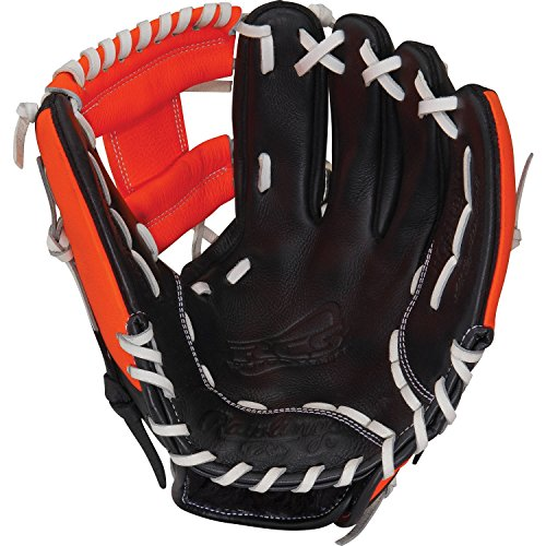 Rawlings RCS Series Glove, Orange, 11.5-Inch