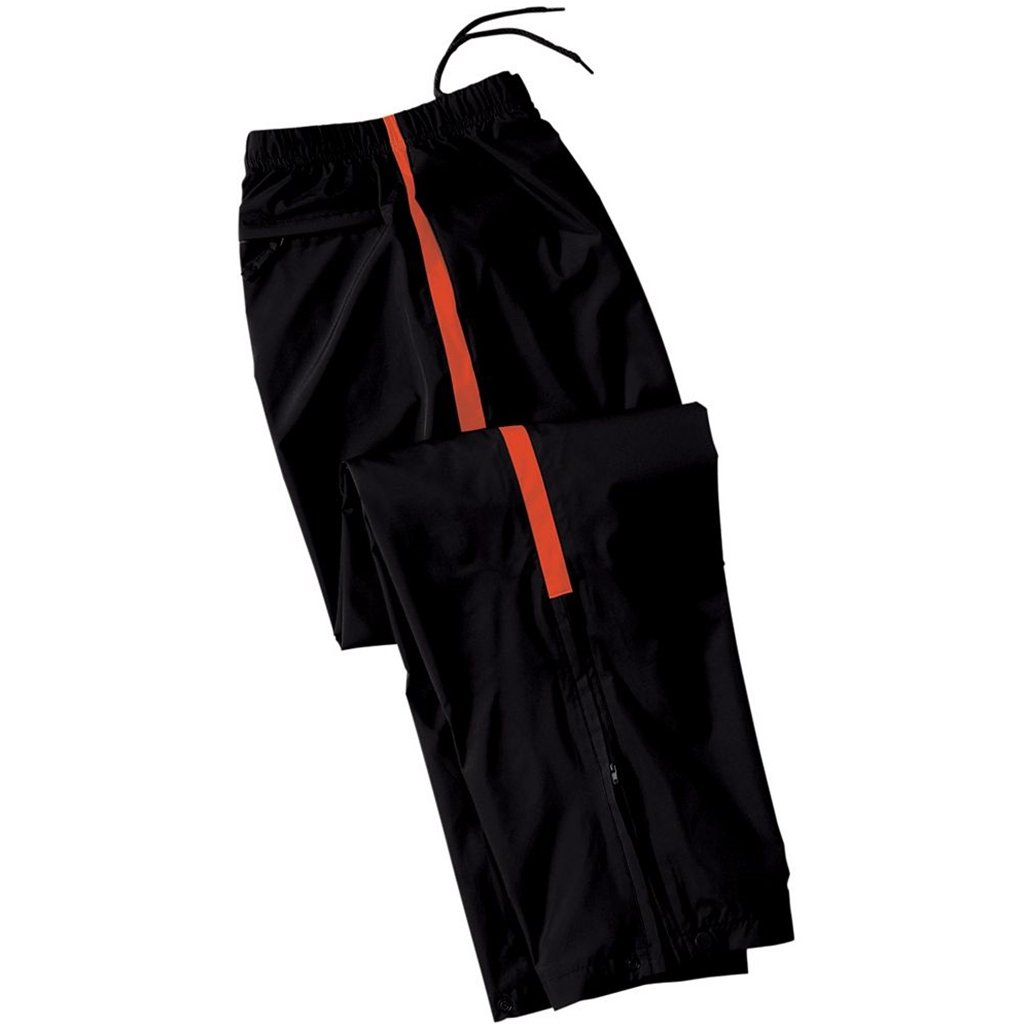 Holloway Youth Micron Sable Pant (Small, Black/Orange)