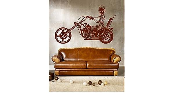 ik287 Wall Decal Sticker Decor motorcycle moto speed bike adrenaline interior