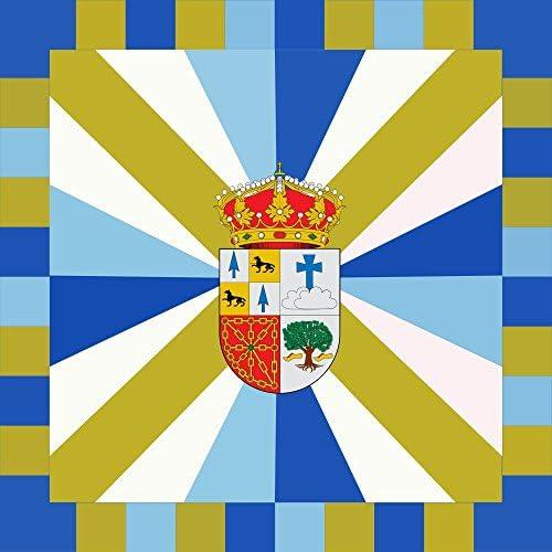 magFlags Bandera Large Bera | Municipio de Bera/Vera de Bidasoa Navarra - España | 1.35m² | 120x120cm: Amazon.es: Jardín