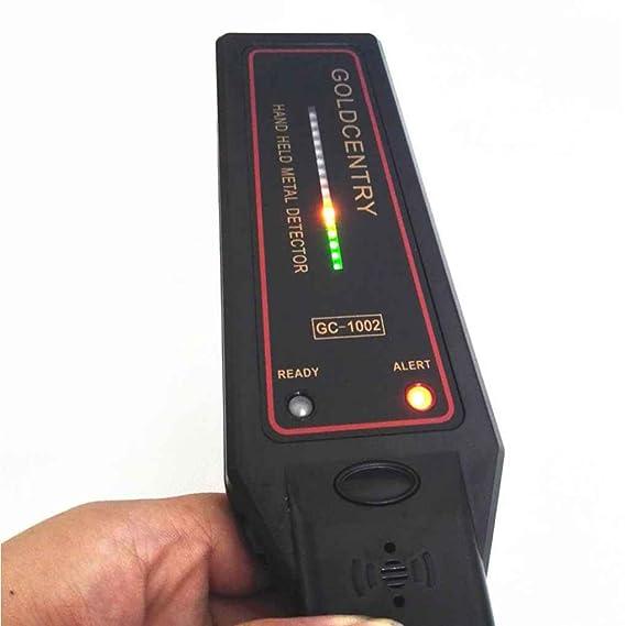 GC-1002 Detector de metales de mano de seguridad Instrumento de Inspección alta sensibilidad Security Scanner censhaorme: Amazon.es: Bricolaje y ...