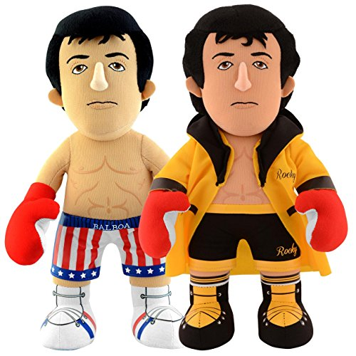 Bleacher Creatures Rocky Dynamic Duo: Rocky Gold Robe and (Rocky Balboa Ivan Drago)