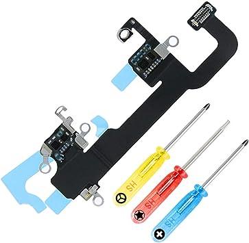 MMOBIEL Antena WiFi WLAN conexión de señal Cable Flex Compatible con iPhone XS 5.8 pulg, Incl. Destornilladores