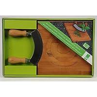 MQ-power planche à découper en bambou kräuterschneidebrett couteau berceuse kräutermesser planche herbes