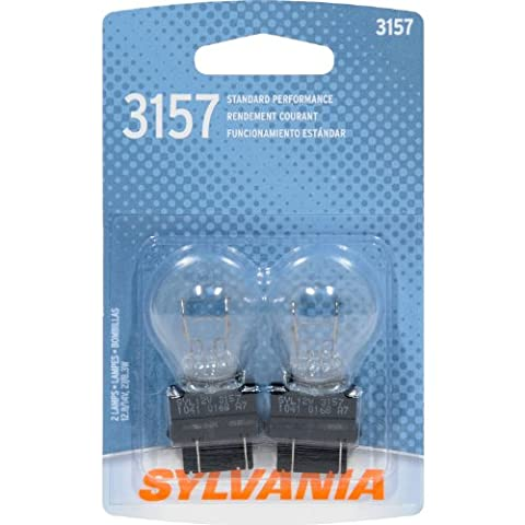 SYLVANIA 3157 Basic Miniature Bulb, (Contains 2 Bulbs) - 2005 Cadillac Cts
