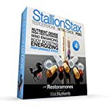 #1 Real Testosterone and Nitric Oxide Booster - StallionStax Capsules and Drink Mix - 96+ Hours of Enhanced Performance and Increased Strength. IcariinX, Tongkat Ali, Horny Goat Weed, More… (10)