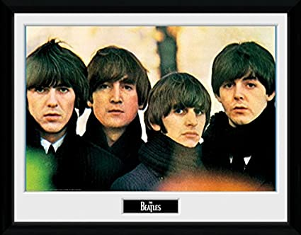 Amazon.com: 1art1® The Beatles Framed Collector Poster - For Sale ...