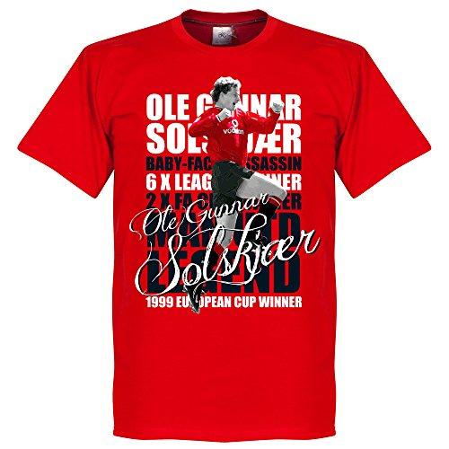 Solskjaer Legend T-Shirt - rot