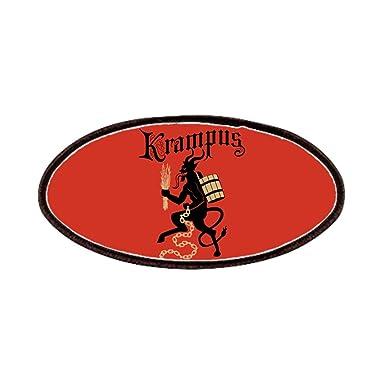 Amazon.com: CafePress – Krampus Parches – Parche, 4 x 2in ...