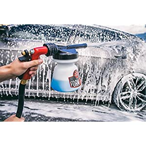 Adam's NEW Standard Foam Gun - Produces Thick, Sudsy Foam for Car Washing - Use With Regular Garden Hose - Fun, Efficient Way to Foam Down Your Vehicle