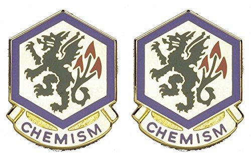 415th CHEM BDE Distinctive Unit Insignia - Pair ()
