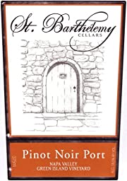 NV  St. Barthelemy Cellars Pinot Noir Port 375 mL