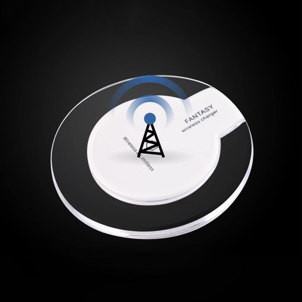 edited Wireless Charger Round Charging with Receiver for Phone Charging Stations
