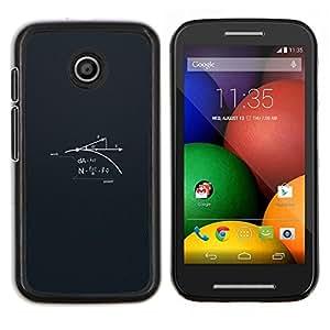 Stuss Case / Funda Carcasa protectora - Ciencia Poder - Motorola Moto E