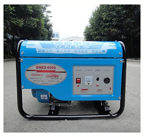 DNES-4500,3000 Running Watts/4000 Starting Watts, Gasoline Portable Generator?Household high Power Generator (5KW Three-Phase Motor)
