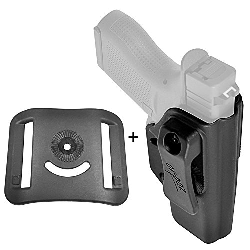 Orpaz Glock 43 Holster IWB Holster Glock 43 CCW Holster (With a OWB BELT Attachment)