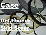 128728A1 Tilt Bucket Cylinder Seal Kit Fits Case 1835C 1838 1840 1845C