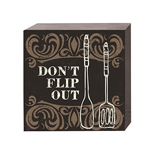 PRINZ Don't Flip Out Plaque