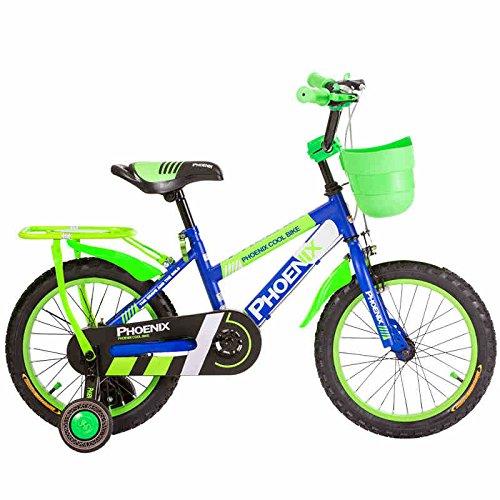 HAIZHEN マウンテンバイク 子供用自転車3/6/9歳男の子用ベビーカー12/16/14/18インチ男の子用自転車 新生児 B07C5RRVR8 16 inch|青 青 16 inch