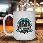 Talk Herdy To Border Collie Mug, Ceramic Mug, White Cup 15 oz 5