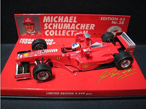 """1/43 フェラーリ F300 """"タワーウィング` 昭和シェル石油 #3(レッド) 「MICHAEL SCHUMACHER COLLECTION Nr.38」 510984333"""