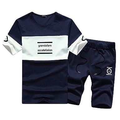 Homebaby 2pcs Tuta Sportiva Estive T Shirt Manica Corta da