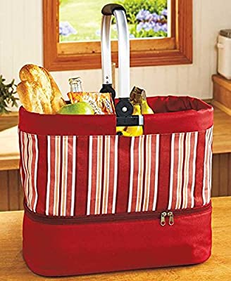 2-in-1 Tote with Hot/Cold Casserole Carrier