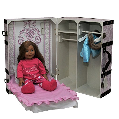 The Queen S Treasures Pink Storage Trunk Suitcase Storage