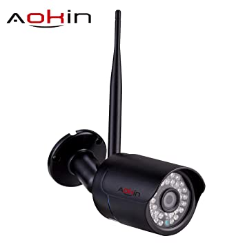 Cámara de vigilancia, cámaras de Exterior de 720p HD/WiFi / IP para Interiores