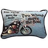 Amazon Com Harley Davidson Fireball Pillow 14 X 12 Quot Home