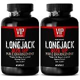 Testosterone booster pills men - LONGJACK SIZE UP 2170Mg - MALE ENHANCEMENT SUPPLEMENT (With Maca, Tongkat Ali, L-Arginine, Ginseng and Zinc) - 2 Bottles 120 Capsules