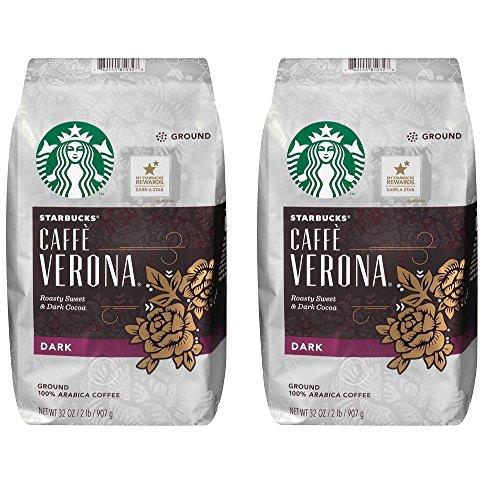 Starbucks Coffee, Caffe Verona (2 lb.) (2 (Starbucks Cafe Verona)