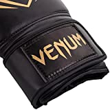 Venum Contender Boxing Gloves - Black/Gold 10oz