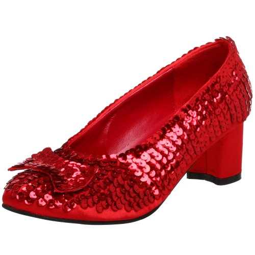 Funtasma by Pleaser Women's Dorothy-01 Pump,Red Sequins,10 M