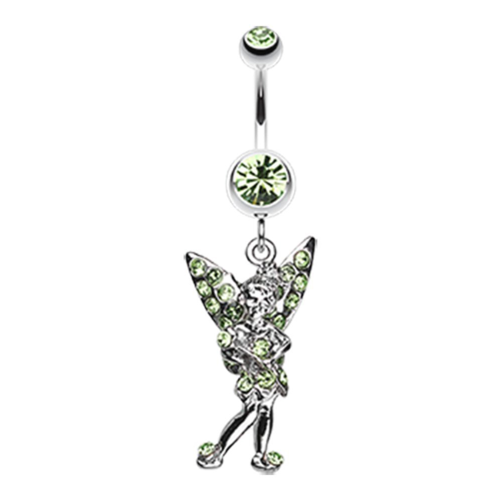 Sold Individually Filigree Moon Star Sparkle 316L Surgical Steel Freedom Fashion Belly Button Ring