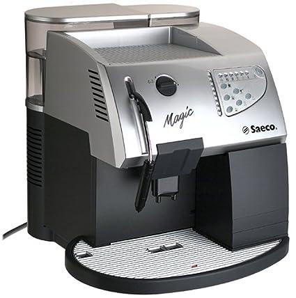amazon com saeco magic deluxe in silver superautomatic espresso rh amazon com saeco magic manual pdf saeco magic manual deluxe pdf