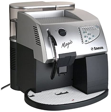Amazon.com: Saeco Magic Deluxe en plata superautomatic ...