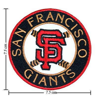 San Francisco Giants Logo Ii Embroidered Iron on Patches