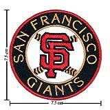 1 X San Francisco Giants Type-2 Embroidered Iron Applique