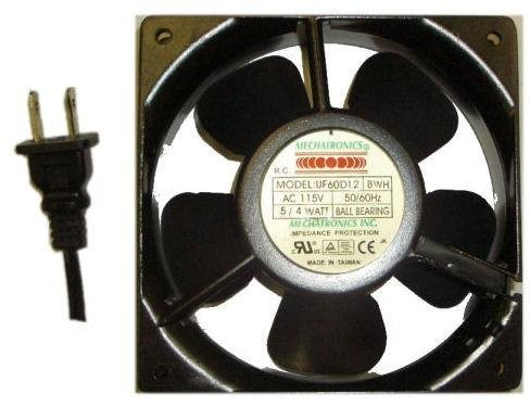 Mechatronics 60x60x30mm AC Fan w/ 36'' Power Cord (UF60D12) by Mechatronics