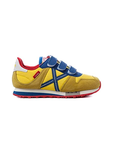 Amarillo Vco Zapatillas 32 Munich Massana Amazon es 254 Mini wRwqtdY