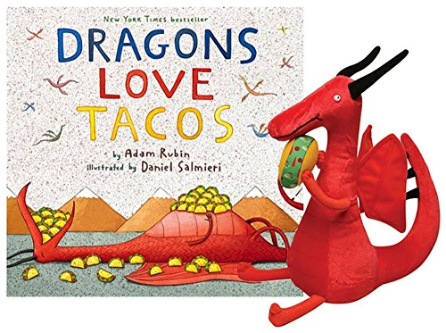Dragons Love Tacos Large Hardcover Book & 10